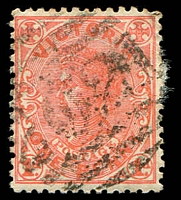 Lot 12507:2021: '2021' on 1d pink.  Allocated to Werribee-Renamed from Wyndham PO 1/11/1904; closed c.1992.