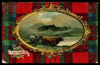 Lot 997 [2 of 2]:Blackheath (2): framed 'BLACKHEATH/JU6/1910/N.S.W' on 1d Arms on 'Loch Katrine' PPC.  RO 16/7/1880; PO 1/2/1883.