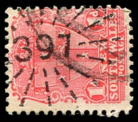 Lot 5360:397: rays (3R16) on 1d Arms.  Allocated to Lucknow-PO 1/7/1863; closed 22/11/1984.