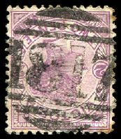 Lot 2134:1817: '1817' on 2d violet. [Rated S]  Allocated to Chirrup-PO 6/12/1890; closed 29/2/1964.