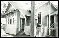 Lot 16465:Skipton: - black & white photo of PO taken 1968.  PO 6/3/1858; LPO 10/8/1993.
