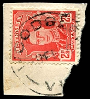 Lot 3302:Woodglen (2): - WWW #10 'WOODGLEN/9FE46/VI[C]' on 2½d red KGVI.  RO 1/9/1913; PO 1/10/1914; closed 13/3/1957.