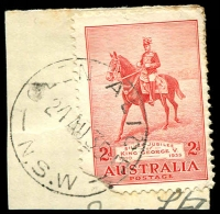 Lot 1260:Glen Alice: - 'GLEN ALICE/24AU35/N.S.W' on 2d Jubilee.  PO 1/1/1869; closed 15/10/1985.