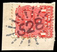 Lot 717:528: rays on 1d Arms.  Allocated to Hillston-PO 1/2/1869.