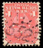 Lot 5385:552: rays on 1d Arms.  Allocated to Boggabri-PO 1/1/1870.