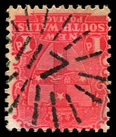 Lot 710:117: rays (3R16) on 1d Arms.  Allocated to Bingera-PO 1/1/1853; renamed Upper Bingera PO 9/7/1862; Re-allocated to Bingera PO 9/7/1862; renamed Bingara PO 21/4/1890.