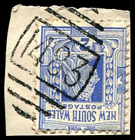 Lot 764:1483: BN on 2d blue.  Allocated to Catherine Hill Bay-PO 1/9/1889; closed 15/10/1993.