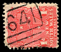 Lot 6099:1641: '[1]641' BN on 1d Arms.  Allocated to Ford's Bridge-RO 15/4/1890; PO 1/1/1892; closed 31/7/1990.