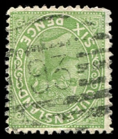 Lot 1531:193: BN on 6d green Lined-Oval.  Allocated to Maytown-PO 17/6/1874; closed c.-/12/1945.
