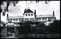 Lot 2623:Mount Buffalo Chalet: - black & white photo of PO (Chalet) taken 1971.  Renamed from Mount Buffalo RO 22/8/1910; PO 1/2/1914; closed 24/6/1986.