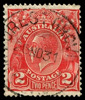 Lot 3199:Forest Grove: - 'FOREST GROVE/26NO31/WESTN AUST' (B29) on 2d red KGV.  Renamed from Nuralingup PO c.1926; closed 31/10/1979.