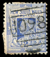 Lot 5467:1098: BN on 2d blue.  Allocated to Salt Creek-PO 1/9/1881; renamed Tareena PO 1/2/1886; closed 6/5/1927.