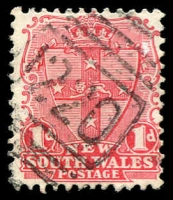 Lot 5506:1220: BN on 1d Arms.  Allocated to Bondi-PO 1/10/1883.