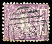 Lot 6052:1387: BN on 1d Centennial.  Allocated to Bulli R.S.-PO 5/10/1887; renamed Bulli PO 15/6/1911.