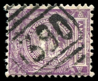 Lot 5542:1390: '1390' BN on 1d Centennial. [Rated SS]  Allocated to Timbery Range-PO 1/11/1887; TO 1/5/1942; closed 30/11/1957.