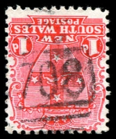 Lot 5404:708: BN on 1d Arms.  Allocated to Tarana-PO 1/12/1873; closed 8/7/1985.