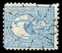 Lot 5408:722: rays on 2d Emu. [Rated R]  Allocated to Barrington-PO 16/3/1874.