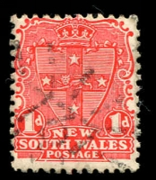 Lot 6015:737: rays on 1d Arms. [Rated 2R]  Allocated to Little Billabong-PO 1/10/1874; RO 16/3/1891; PO 6/4/1891; closed 4/12/1953.