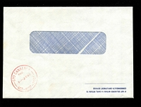 Lot 869:Canberra (3): 'GPO CANBERRA/PAID/5-P-2NO83/ACT-AUST-2601' in red on window-faced Commonwealth Employment Service cover.  PO 12/4/1983.