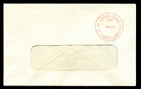 Lot 874:Jamison Centre: 'JAMISON CENTRE/PAID/4DE79/ACT-AUST-2614' in red on window-faced cover.  Renamed from Macquarie PO 2/1/1969.