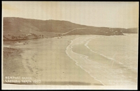 Lot 1415:Newport Beach: - black & white real photo 'Newport Beach Looking North' Broadhurst M.A.B. Photo.  PO 12/11/1928.