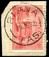 Lot 1545:Riana: - 'RIANA/16JE32/TAS.', on 2d Bridge.  PO 1/8/1899.