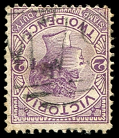 Lot 10973:1079: 'M79' on 2d violet. [Rated SS]  Allocated to Lake Marmal-PO 17/8/1878; closed 28/2/1959.