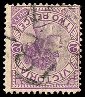 Lot 11037:1187: 'MC/87' on 2d violet.  Allocated to Willung-PO 2/8/1880; TO 1/12/1950; closed 7/6/1956.
