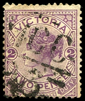Lot 11056:1226: 'MCC/26' on 2d violet. [Rated 3R]  Allocated to Cannum-PO 1/9/1881; RO 1/2/1908; PO 1/7/1927; closed c.1930.