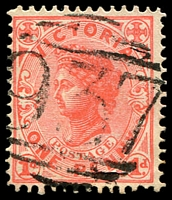 Lot 10907:937: '937' on 1d pink. [Rated S]  Allocated to Thornton-PO 1/2/1876; LPO 27/5/1994.
