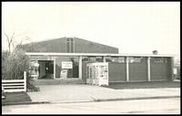 Lot 2401:Bairnsdale: - black & white photo of temporary PO taken 1971.  Renamed from Lucknow PO 3/4/1862.