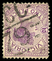 Lot 11080:1279: '[M]CC/79' on 2d violet.  Allocated to Patho-PO 19/5/1892; closed 28/6/1991.