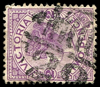 Lot 11140:1429: 'MCCCC/29' on 2d violet.  Allocated to Rosebery-PO 1/11/1884; closed 7/10/1974.