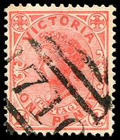 Lot 11285:1710: '1710' on 1d pink.  Allocated to Berringama-PO 27/1/1890; closed 31/5/1994.