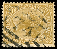 Lot 2256:1746: '1746' on 4d olive.  Allocated to Jumbunna-PO 1/5/1890; renamed Glen Alvie PO 2/11/1893; Re-allocated to Jumbunna PO 2/11/1893; closed 30/9/1976.