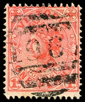 Lot 12408:1967: '1967' right half of duplex on 1d pink.  Allocated to Outtrim-PO 10/5/1894; closed 14/5/1957.