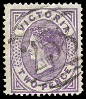 Lot 1910:258: Type 2BR on 2d Bell. [Rated SS]  Allocated to Vaughan-PO 15/3/1859; closed 15/6/1922.