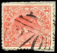 Lot 10584:270: '270' on 1d pink. [Rated SS]  Allocated to Deep Lead-PO c.-/10/1859; closed 2/11/1973.