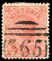 Lot 10659:365: on 1d pink.  Allocated to Barfold-PO 1/11/1861; renamed Langley PO 4/1/1867.