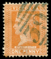 Lot 10652:397: '397' in bluish-black on 1d brown.  Allocated to Bass-PO 1/6/1862; LPO 15/9/1993.