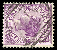 Lot 10815:749: light '749' on 2d violet. [Rated 2R]  PO 1/9/1871; closed 30/10/1965.