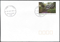 Lot 784:Albury West (2): - 2 strikes of LICENSED POST OFFICE/31OCT2014/ALBURY WEST/NSW 2640' on Postage Paid PSE.  PO 12/12/1994.