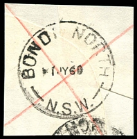 Lot 801:Bondi North: - 'BONDI NORTH/1JY60/N.S.W.' on registered piece.  PO 2/12/1935; closed 8/9/1989.