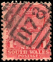 Lot 5980:1178: BN on 1d Arms.  Allocated to Ferriers-RO 16/5/1882; PO 16/4/1883; RO 1/4/1884; PO 1/4/1886; renamed Lockhart PO 1/11/1898.