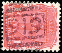 Lot 732:919: BN on 1d Arms.  Allocated to King Street-PO 11/3/1878; closed 15/8/1964.