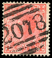 Lot 13043:2078: '2078' on 1d pink. [Rated 2R]  Allocated to Barrapoort Railway-RO c.1902; PO 10/3/1904; renamed Barrapoort PO 15/2/1913.