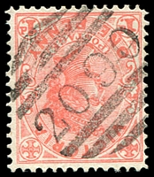 Lot 2319:2090: BN on 1d pink. [Rated 3R]  Opened as RO 1904; PO 14/7/1905; closed 11/12/1957. [Grossly underrated]