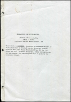 Lot 1282:Girilambone: - Detailed history (36+ pages) of Girilambone Post Office produced by the Historical Officer of Australia Post in 1980.  PO 1/9/1881.