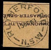 Lot 1071:Rutherford (2): - 'RUTHERFORD/15JE63/N.S.W' on piece.  PO 16/1/1961; closed 30/6/1967.