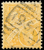 Lot 778:1950: BN on 6d yellow Centennial.  Allocated to Bora Creek-RO 16/3/1899; PO 1/9/1899; renamed Howell PO 1/7/1901; TO 1/6/1959; closed 30/9/1965.